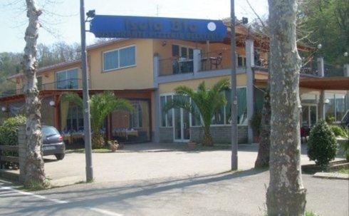 ingresso isola blu, montefiascone, ristorante