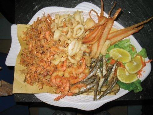 frittura di pesce, montefiascone, viterbo