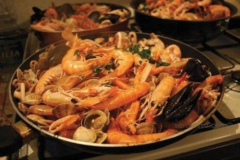 grigliata di pesce, frittura, pesce