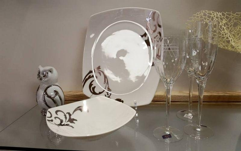 set piatti bicchieri
