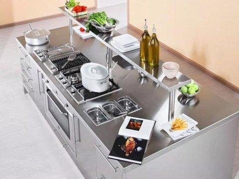 Piani in acciaio salerno baronissi concilio cucine - Ripiani in acciaio per cucine ...