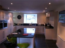 Electricians  - Preston, Leyland and Blackpool - Needham Electrical Services Limited - Kitchen Lighting