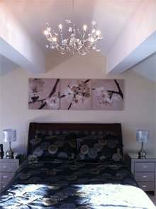 New build wiring and installations  - Preston, Leyland and Blackpool - Needham Electrical Services Limited - Bedroom Lighting