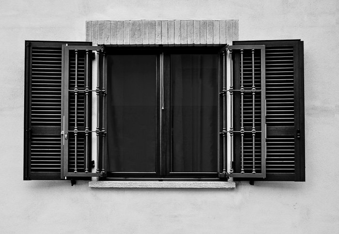 Inferriate e persiane a Padova