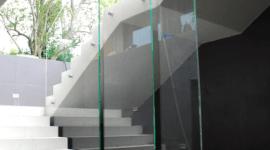 vetro rinforzato, ringhiere in vetro, vetri personalizzati