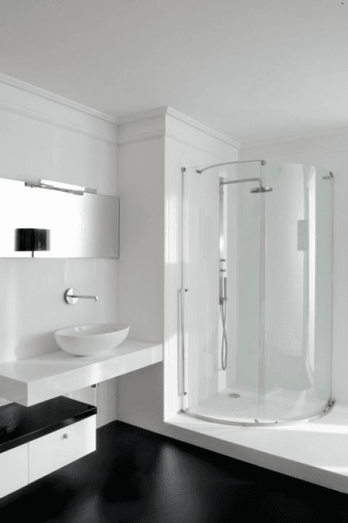 docce ad angolo, box doccia vetro, box doccia plexiglass