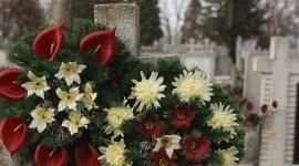 arte sacra, fiori per funerali, fiori per cerimonie funebri