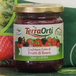 Confettura extra di frutti di bosco degli Alburni