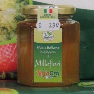 Miele biologico millefiori