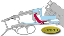 montaggio ottiche, verifica funzionalità, sostituzione parti danneggiate di armi