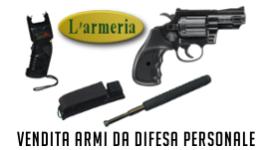vendita pistole, vendita manganelli in ferro telescopici, vendita dissuasori elettrici