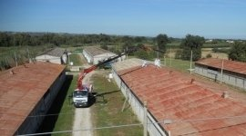 nuova copertura, realizzazione nuovi tetti, realizzazione coperture capannoni