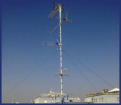 antenne tv, parabole sky, antenne satellitari