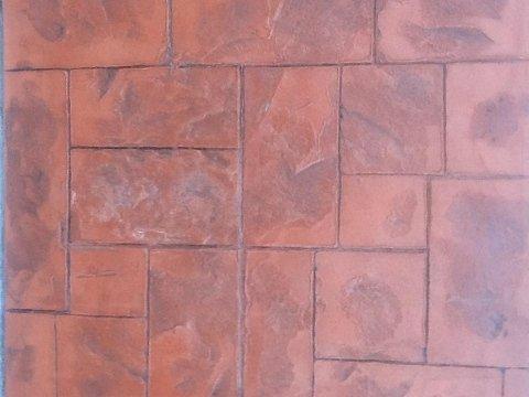 pavimento rosso da esterni