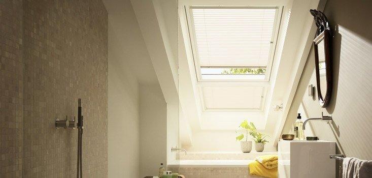 tende veneziane per finestra mansarda