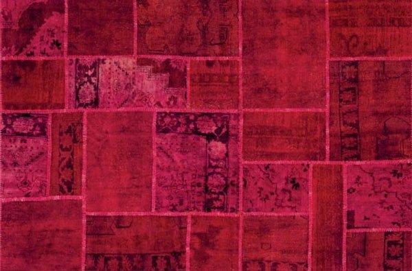 tappeto rosso modello Antigua