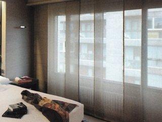 sistemi di tende a pannelli
