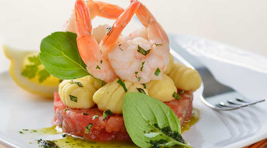 Piatto di pesce a Brescia