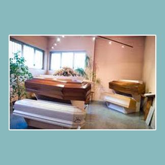 esposizione casse funebri