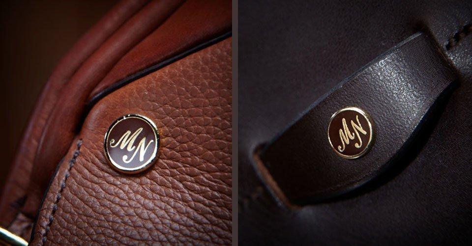 logo on saddle