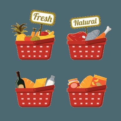 spesa, supermercato, Conad, generi alimentari