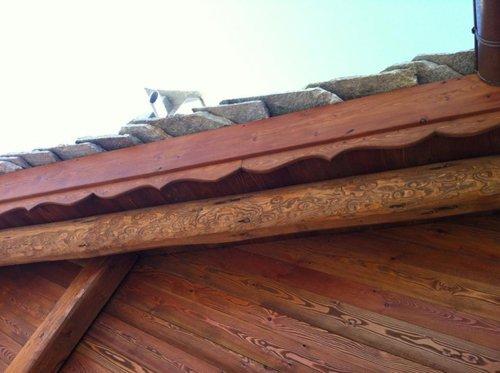 particolare di un tetto