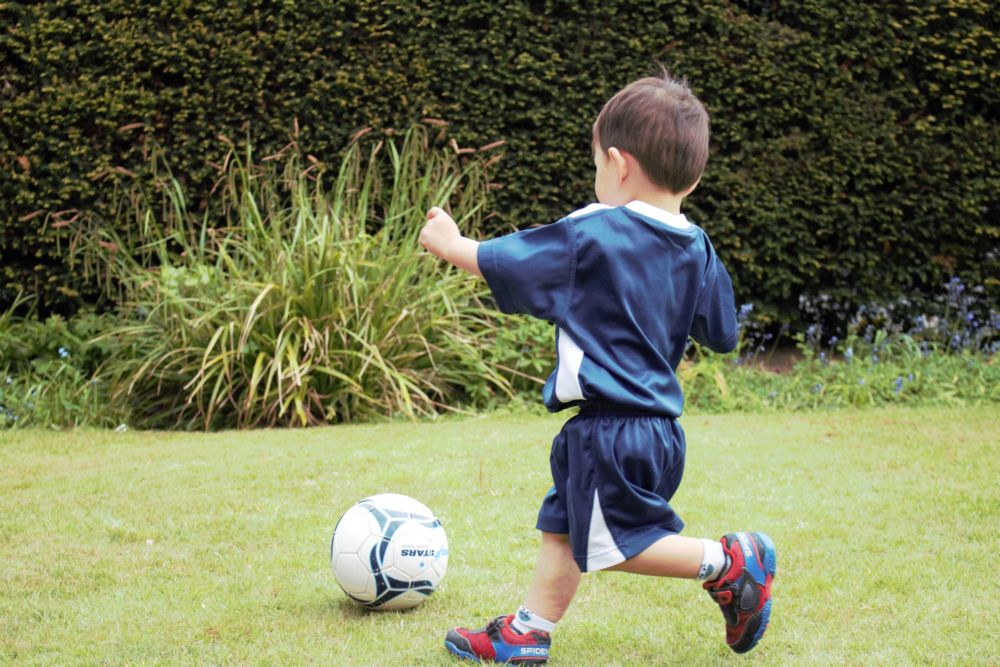 Early Development - Turning with the ball