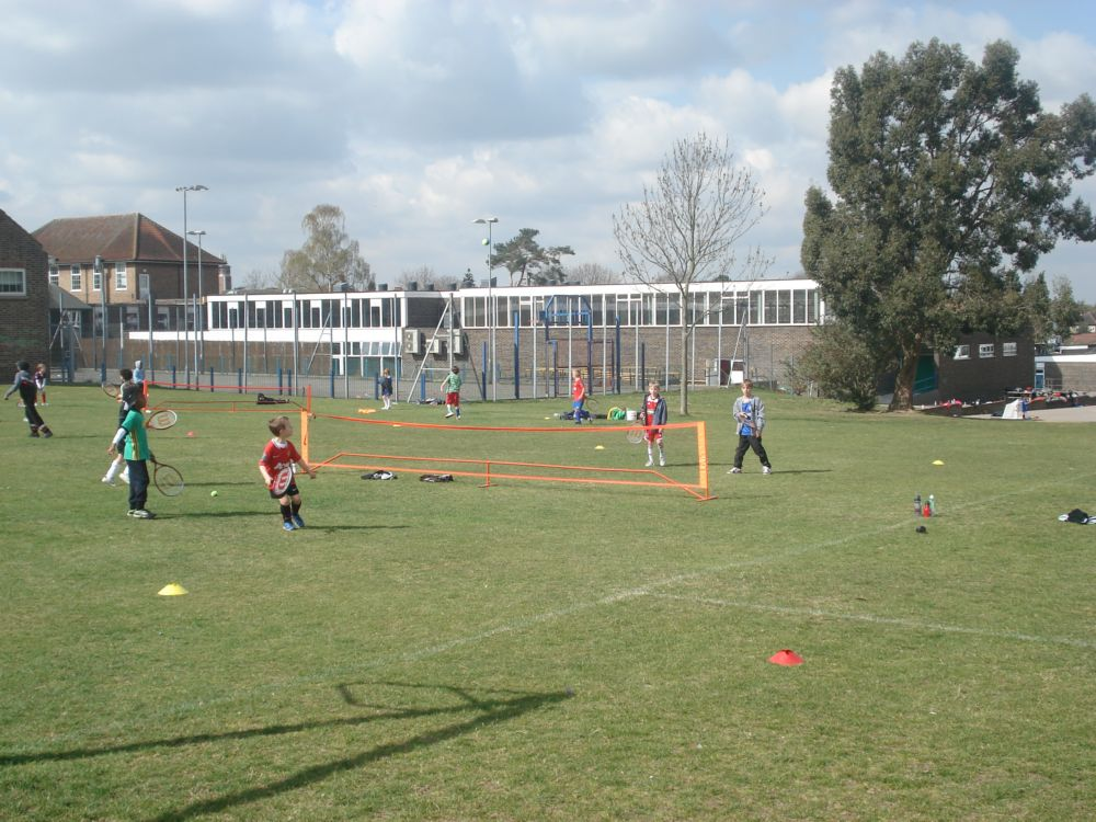 Holiday Courses - Playing Tennis