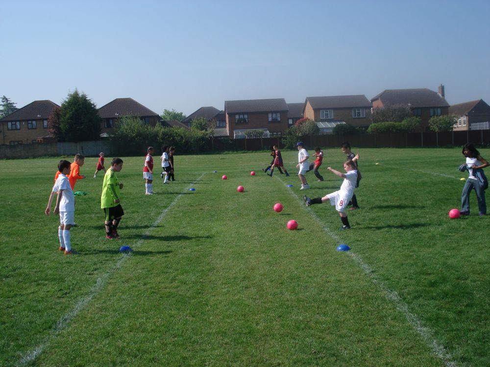 Breakfast & Afterschool Clubs - Football Passing