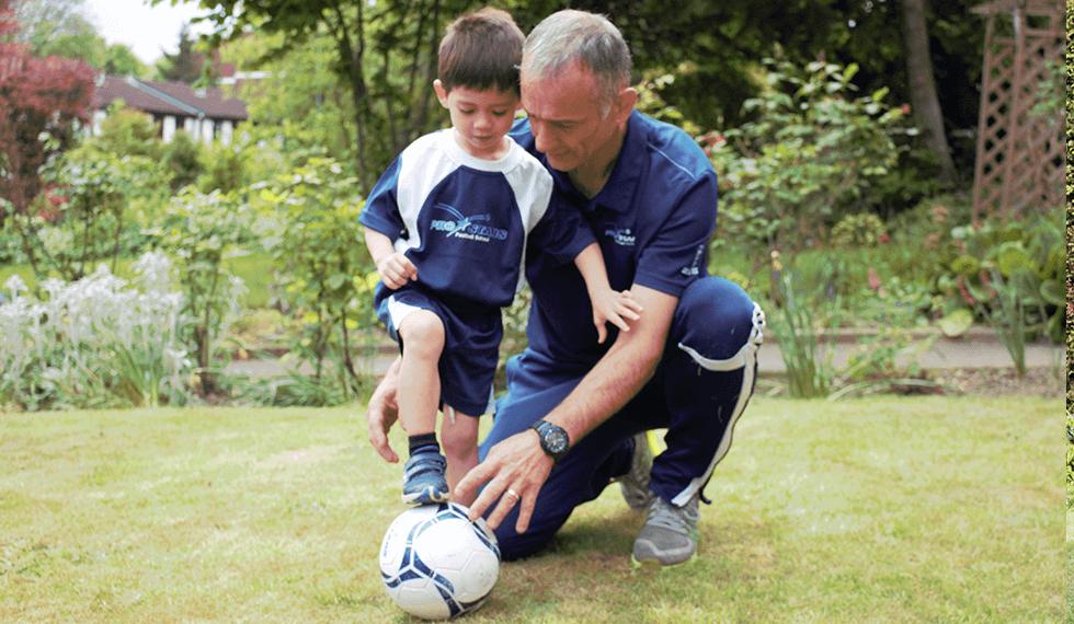 Football Learning to Kick