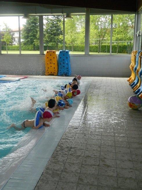 Scuola con piscina