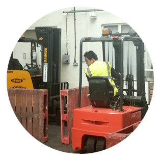 Forklift truck conversion training