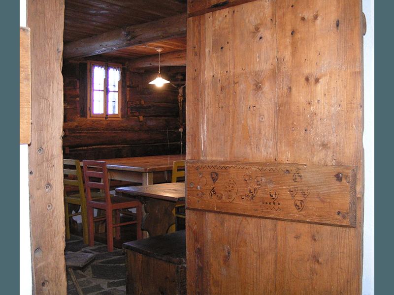 Recupero edilizia tradizionale montana