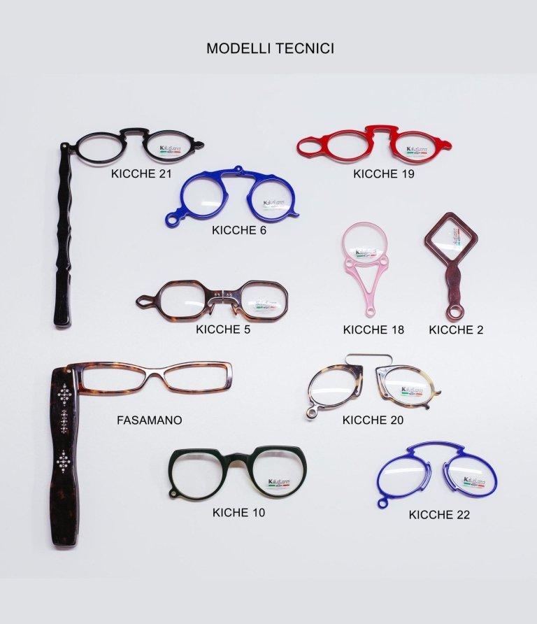 occhiali tecnici produzione propria