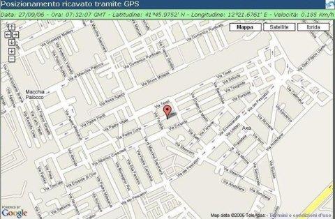 localizzazione satellitare servizi di vigilanza