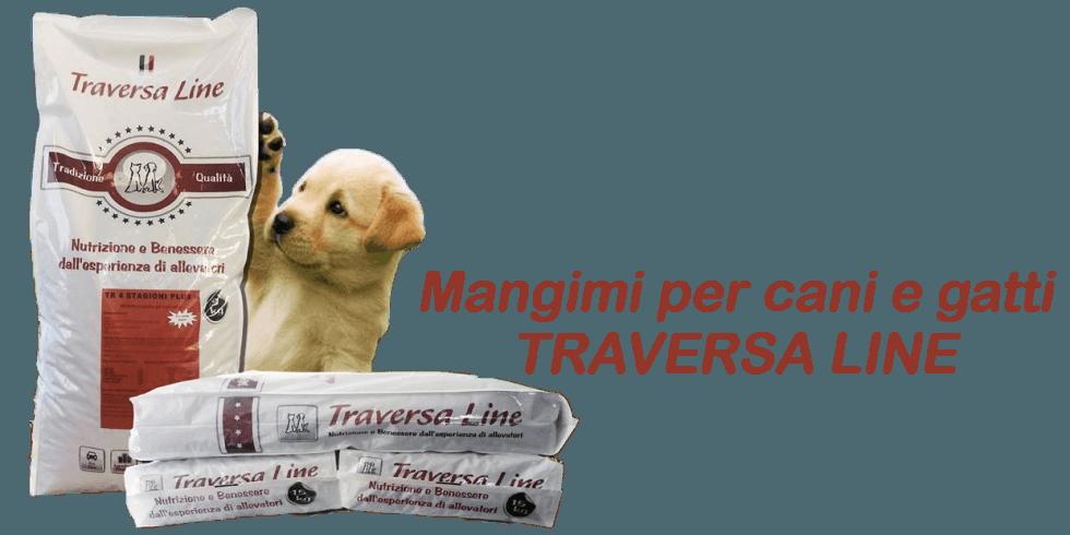 Mangimi per cani e gatti Traversa Line
