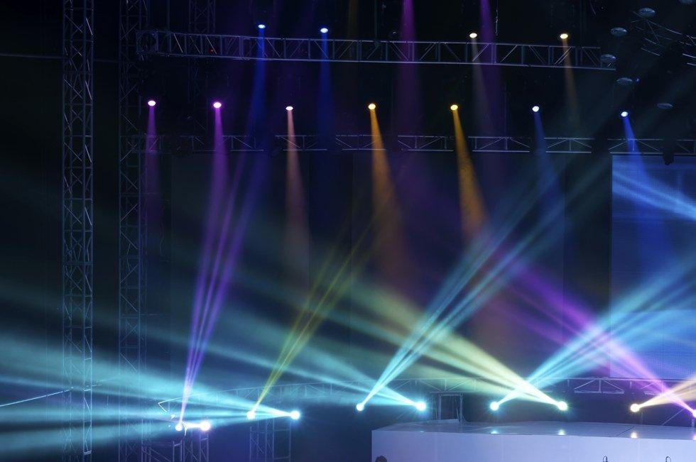 Impianto di illuminazione per palchi e scene teatrali