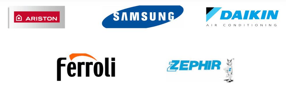 climatizzazione, Ariston, Samsung, Daikin, Ferroli, Zephir