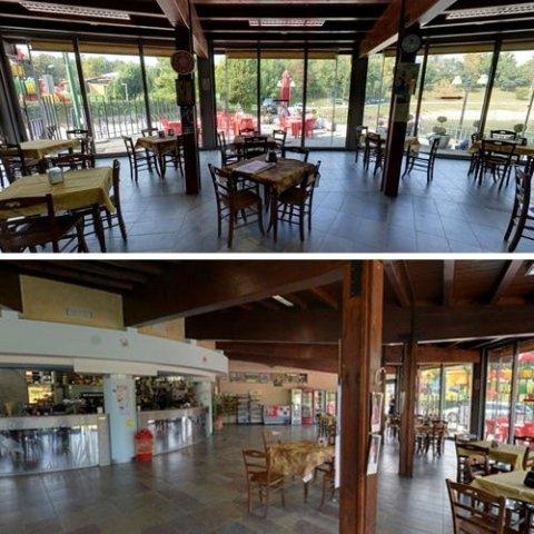 Zona bar e ristorazione