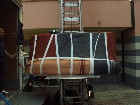 divano imballato