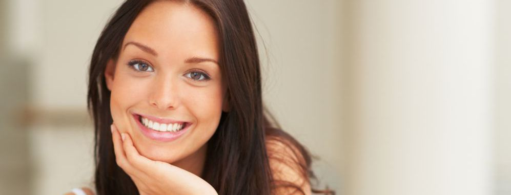 Smiling woman with good dental health in Honolulu, HI