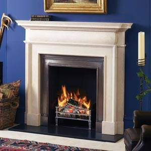 A fireplace in Doncaster