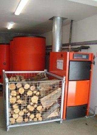 caldaia biomassa