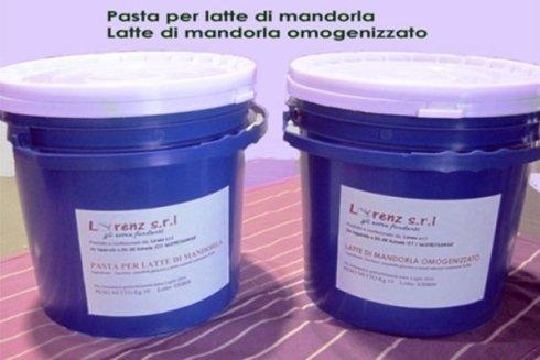 Latte di mandorle liofilizzato da 10 kg.
