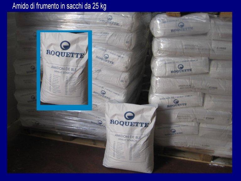 amido di mais- glucidex- farina di riso