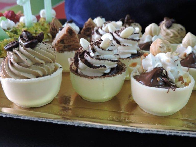 tazzine di cioccolato