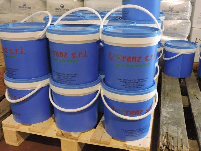 zucchero fondente in secchiello da 15 kg