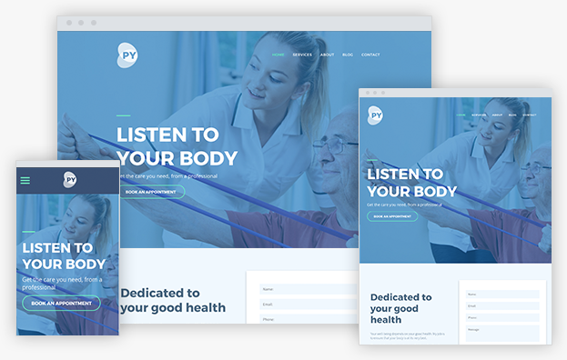 Webact do it yourself webact physiotherapist template solutioingenieria Choice Image