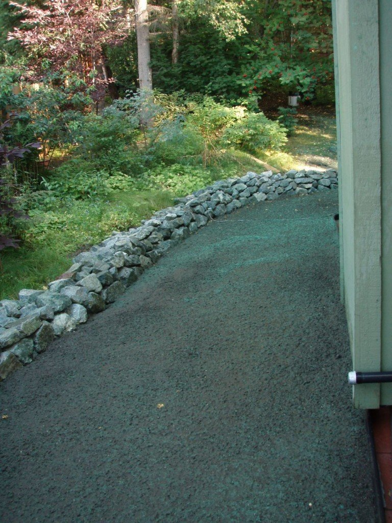 Our professional landscaping project work