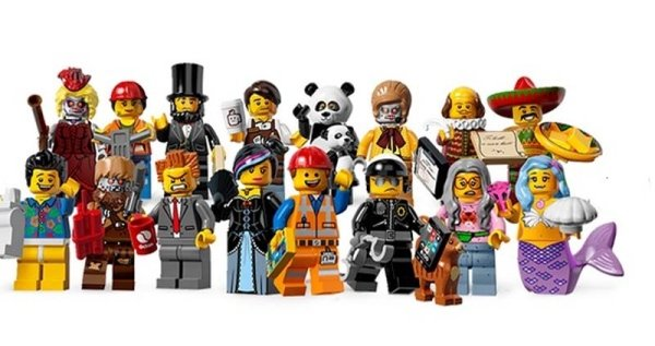 Serie THE LEGO® MOVIE™